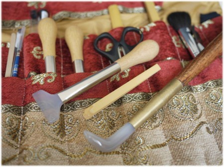 Gilding Tools ギルディングの道具