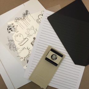 Phantom-Line Lettering and Drawing set