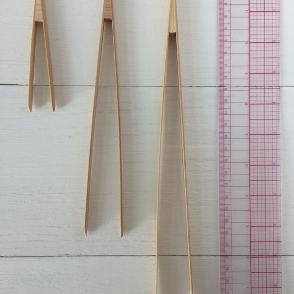 Bamboo tweezers