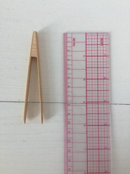 Bamboo tweezers S