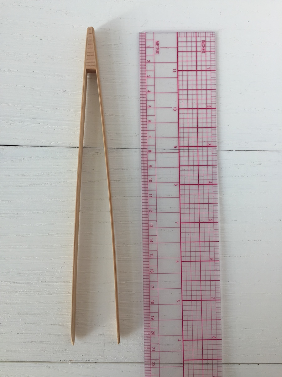 Bamboo tweezers M